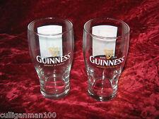 1 - Lot of 2 - Guinness Jack Astor Beer Glasses (2016-255)