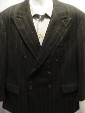 Polo Ralph Lauren Double Breasted Gray Sports Coat Jacket Blazer S 40 R VTG