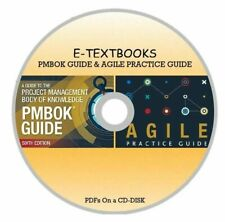 Set of 2 Textbooks PMBOK Guide 6th Edition & Agile Practice Guide NON AUDIO CD
