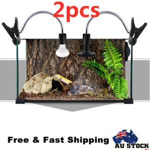 2X Ceramic Heat E27 Lamp Light Holder For Chicken Brooder Turtle Reptile Basking
