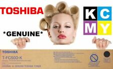 Toshiba GENUINE/ORIGINAL T-FC50D-K BLACK Toner Cartridge Copier/Printer FC25 NEW