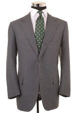 VTG Brooks Brothers Makers Gray Pinstripe Wool 2pc Suit Jacket Pants 42 R