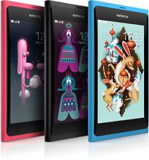 Nokia Lumia N9 N9-00 Smartphone Barra Teléfono Libre 3G de Wifi 16GB 8MP NFC Box