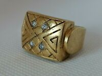 Extremely Rare Ancient Roman Bronze Ring Artifact Quality Very Stunning