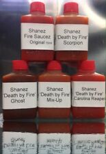 Carolina Reaper~Ghost, Scorpion,5x15ml  'DBF'(Hot Sauce)Chilli ~Sale Shanez