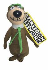 "Cartoon Network Play By Play Hanna Barbera Yogi Bear Plush 8"" Original Tags 2001"