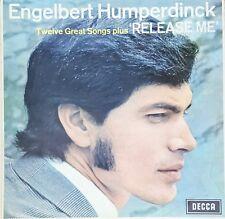 Engelbert Humperdinck Twelve Great Songs Plus Please Release me vinyl LP 1967