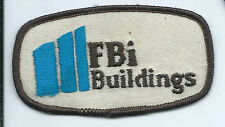 FBI Buildings advertising patch 2 X 3-5/8 #1473