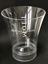 Moët Chandon Imperial Champagner Magnum Kühler Ice Bucket Acryl Deko
