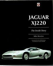 Jaguar XJ 220 The Inside Story Mike Moreton Veloce Hardback Book Fast & Free