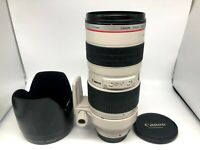【Optics N.MINT】 Canon EF 70-200mm F2.8 L USM Telephoto Zoom AF Lens From JAPAN
