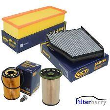 Inspektionspaket Filterset Filterkit VW Passat B7 Sharan Tiguan Q3 1.6 & 2.0 TDI