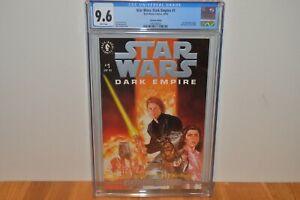 Dark Horse Original Star Wars Dark Empire: Platinum Edition #1 CGC 9.6