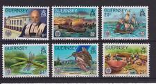 GUERNSEY 1982 LA SOCIETE GUERNESIAISE STAMP SET MNH SG 253-258