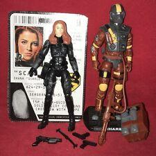 Gi Joe ROC Rise Of Cobra.................SCARLETT, CHARBROILED