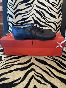 Capezio #EJ1 Black Jazz Shoes Size 3