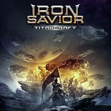 IRON SAVIOR - TITANCRAFT - CD JEWELCASE NEW SEALED 2016