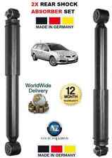 FOR VAUXHALL VECTRA 2002-2008 1.8 1.9 2.0 2.2 2.8 2 x REAR SHOCK ABSORBER SET