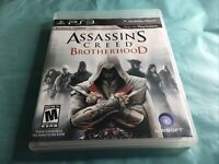 Assassin's Creed Brotherhood (PlayStation 3) PS3 Complete Ubisoft Rated M17+