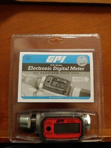 """DD100 GPI 01A31GM 1"""" DIGITAL FUEL METER BRAND NEW IN PACKAGE"""