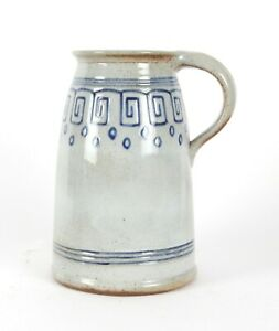 Bourne Denby Danesby Ware Grey Handled Vase Art Deco Pottery