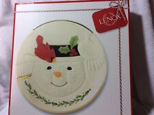 65% Off Lenox Happy Holly Days Snowman Cookie Plate 9� New Christmas Holiday