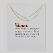 The Romantic Multilayer Pearl Pendant Clavicle Chain Necklace