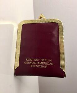 Nähset Alt Reise Nähset Etui Nähkästchen Kontakt Berlin German Friendship 70er