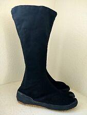 Ninjutsu Black Ninja High Top Tabi Boots Split-Toe Shoes Footwear Womens Size 5