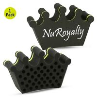 Nu Royalty Curl/Twist Hair Brush Sponge with Tiny Foam Holes for Dreads Locking