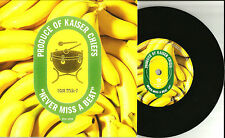 KAISER CHIEFS Never Miss a Beat w/UNRELEASED Trk PROMO 7 INCH VINYL 2008 LIMITED