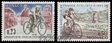 Monaco 1963 Mi 736-37 ** Tour de France Rower Bicycles Bike Fahrrad Bicicletta