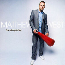 Matthew West : Something to Say CD, Like New