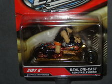 HW HOT WHEELS MOTORCYCLES AIRY 8 HOTWHEELS GOLD WITH REMOVABLE RIDER VHTF RARE