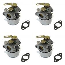 (4) CARBURETORS Carbs for Tecumseh 640299 640299A 640299B Snow Blower Thrower