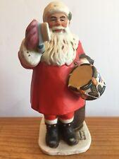 Santa Drum For Tommy Norman Rockwell Dave Grossman Designs Porcelain 1976