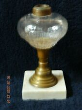 Rare Antique Shield Pattern Oil Lamp (Small & Large Shields Only-No Stars)