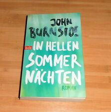 John Burnside, original signé Livre * en claires nuits d'été *