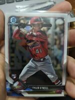 2018 Bowman Chrome Tyler O' Neil (3x) Lot RC Rookie Cardinals