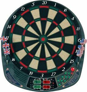 Best Sporting Elektronische Dartscheibe 4 LEDs 159 spiele 12 Pfeile Dart Neu