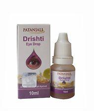 2 pack 100%-Herbal-Patanjali-Drishti-Eye-Drops-For-Eye-Care-Cataract-Care10ML