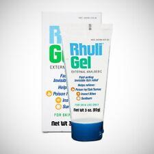 Rhuli Gel External Analgesic - Fast Acting Itch Relief - 85g (3oz)