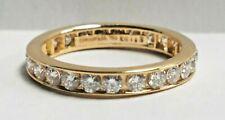 Tiffany & Co. 18K Yellow Gold 1.13 Carat Diamond Eternity Band Wedding Ring