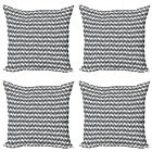Ambesonne Vintage Scenes Cushion Cover Set of 4 for Couch and Bed in 4 Sizes