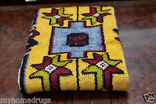 Exclusive Antique Ca1900-1939s 2'10''x4'8'' Wool Pile  Tribal Area Rug-Turkey