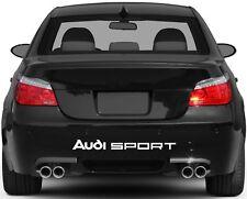 Rear Bumper Stickers Fits Audi Sport Graphics Premium Qaulity YN5