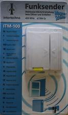 INTERTECHNO ITM-100 Funksender Funk Schalter Kontakt Schaltung Magnetschalter