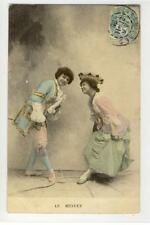AK Le Menuet, Paar im Rokoko Gewand, 1905