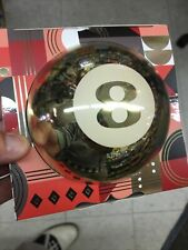 F A O Schwarz Golden Mystic 8 Ball Magic Fortune Telling Classic Fun