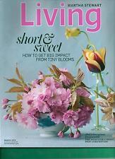 MARTHA STEWART LIVING MAGAZINE MARCH 2013